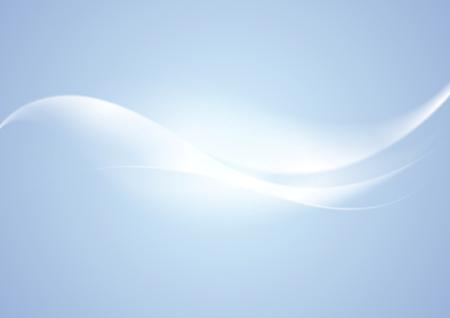 光青抽象波エレガントな背景です。ベクター デザイン  イラスト・ベクター素材
