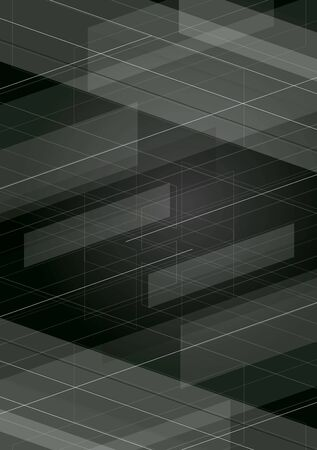 minimal: Dark tech minimal background. Vector geometric design Illustration