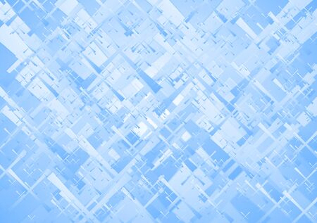 iridescent: Abstract blue technical background. Vector design