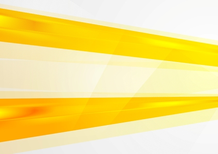 抽象的な明るいオレンジ色の背景。ベクター デザイン