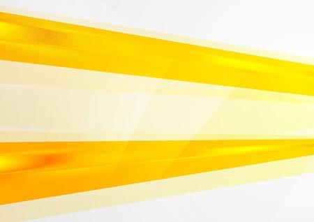 Abstract bright orange background. Vector design Vettoriali