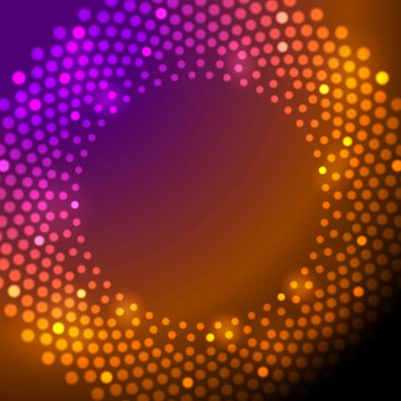 iridescent: Shiny sparkling lights abstract background. Vector illustration Illustration