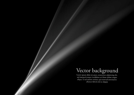 background abstraction: Black and white monochrome smooth lines abstraction. Vector background