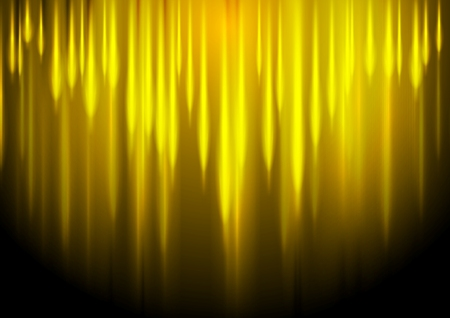 background designs: Glow yellow stripes abstract vector background