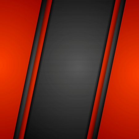 background lines: Abstract dark corporate background. Vector illustration