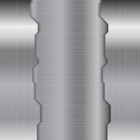 metallic texture: Abstract grey metallic texture background. Vector design