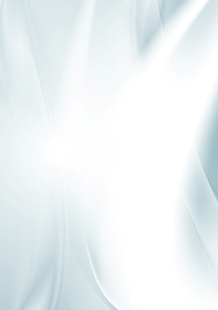 banner background: Light blue smooth waves abstract background.