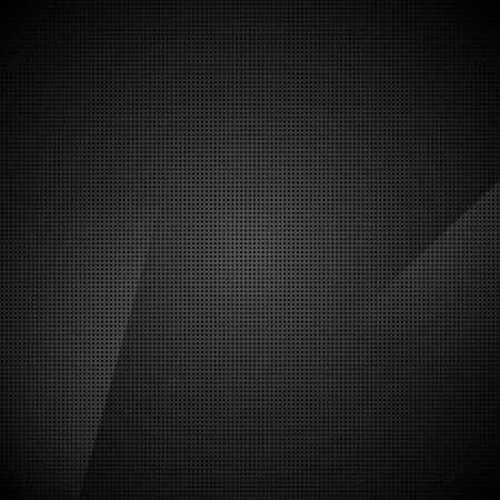 Black abstract dotted texture background.