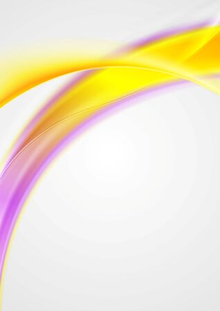 abstract waves: Bright shiny waves abstract background. Vector illustration