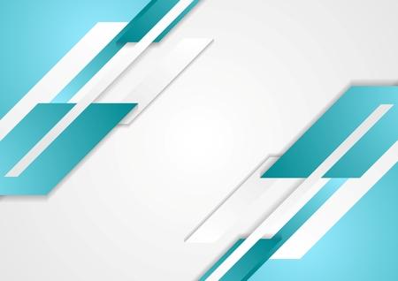 Abstract tech bright geometric background. Vector design Vettoriali