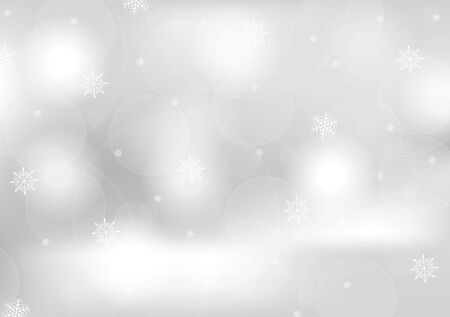 greeting card background: Abstract grey greeting Christmas card. Vector background Illustration