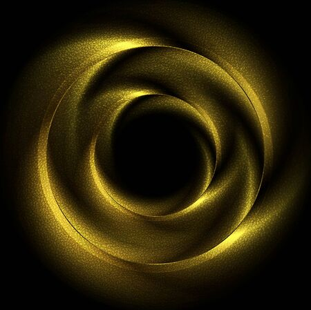 shiny gold: Glow luxury shiny circles icon design. Gold glitter colors vector background