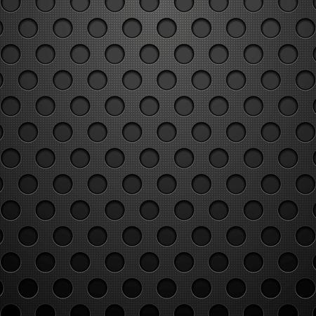 web design background: Dark concept circles technology vector background for web graphic design Illustration