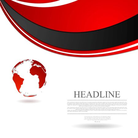 wavy background: Abstract wavy tech globe background. Vector graphic design