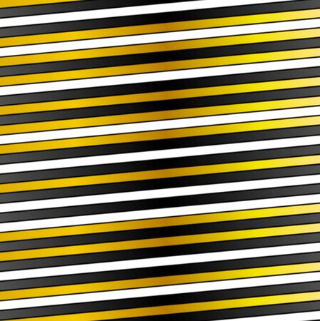 white abstract: White, black and golden stripes abstract background. Vector design