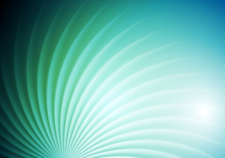 blue and green: Abstract shiny swirl blue green background. Vector graphic brochure design