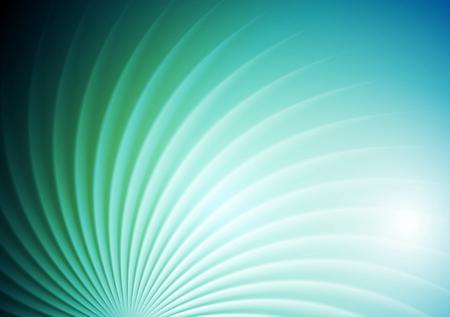 Zusammenfassung glänzende Wirbel blau grünen Hintergrund. Vektor-Grafik-Design Broschüre