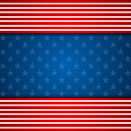 president's day: Presidents Day abstract USA flag colors background. Vector illustration Illustration