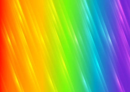 iridescent: Rainbow shiny blurred stripes abstract background. Vector illustration