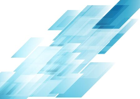 hitech: Hi-tech blue shapes abstract background.
