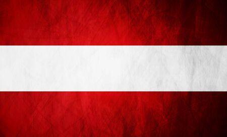 austrian: Austrian grunge flag vector design background