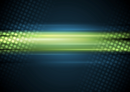 blue green background: Bright shiny glowing blue green background. Vector abstract graphic design template
