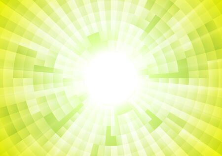 abstract green: Light green tech abstract geometric background. Vector template illustration