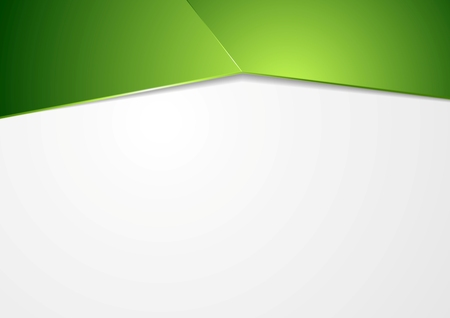 Abstract green corporate template background