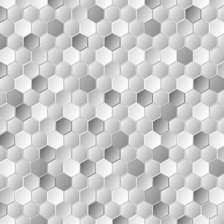 grey background texture: Grey metallic hexagons pattern texture. abstract corporate background template