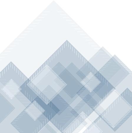 hitech: Hi-tech geometric abstract background. squares concept design Illustration