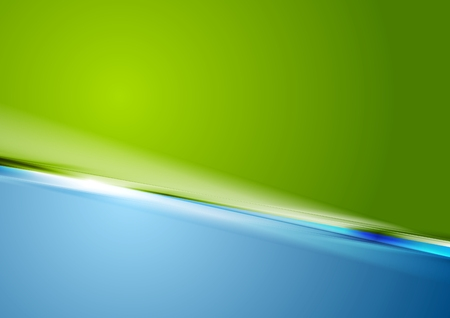 blue and green: Abstract contrast green blue stylish background. Vector graphic design