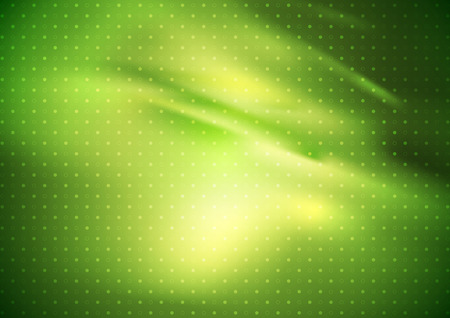 abstract green: Abstract smooth green gradient dotted background. Vector soft curve waves bright graphic design Illustration