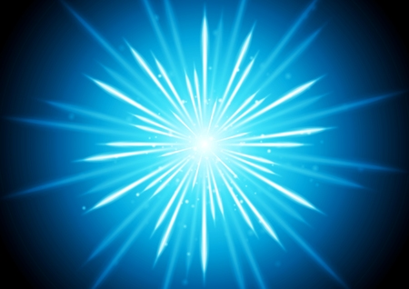 beams: Abstract blue glowing beams background. Vector graphic design Illustration