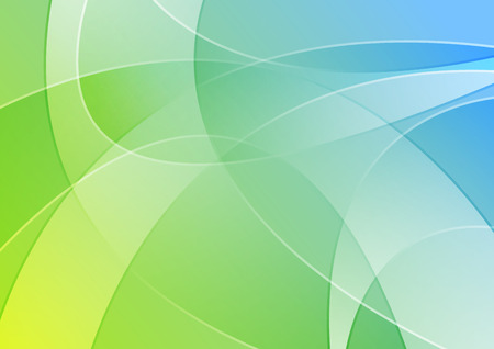 blue green background: Abstract blue and green colorful wavy background. illustration brochure design
