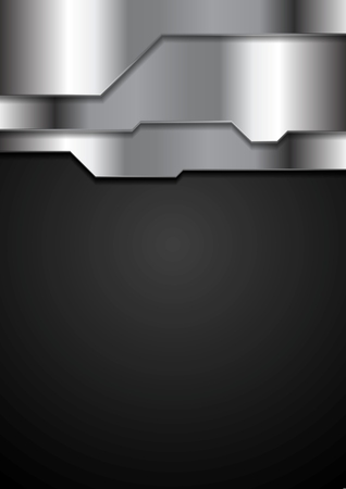 grey background texture: Abstract metal texture corporate tech background. Grey silver metal tech vector design Illustration