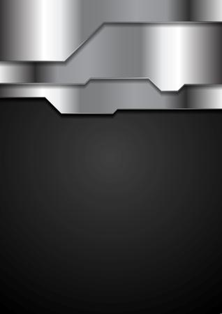 grey background texture: Abstract metal texture corporate tech background. Grey silver metal tech vector design Illustration