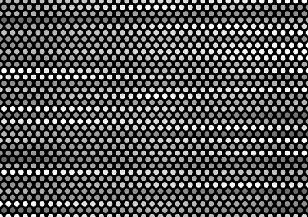 minimal: Dark grey tech minimal circles vector template background Illustration