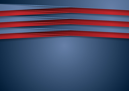 red and blue: Abstract tech corporate blue and red background. Vector design illustration