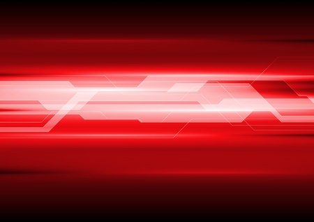 Dark red technical abstract background. Vector template design Illustration
