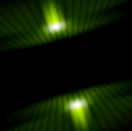 green and black: Technology green striped motion background. technical geometric design