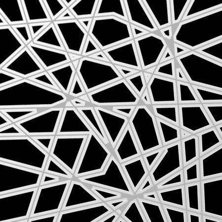 Conception de motif rayé gris abstrait. Fond de vecteur