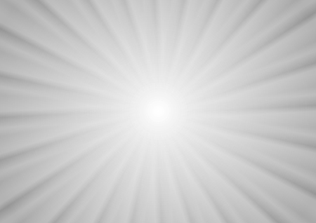 light beams: Abstract minimal beams background, light grey vector gradient