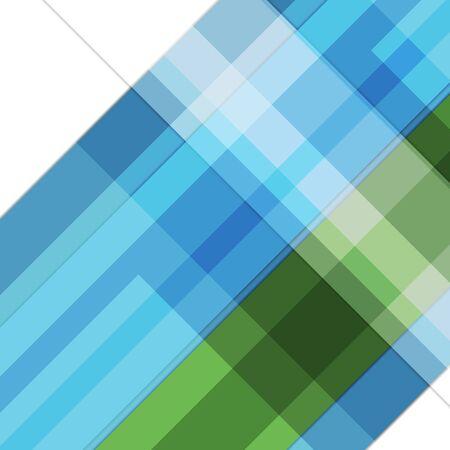 Abstract blue green minimal geometric background. Hi-tech vector design