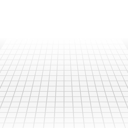 grey: Grey tech abstract perspective background. Vector geometric design