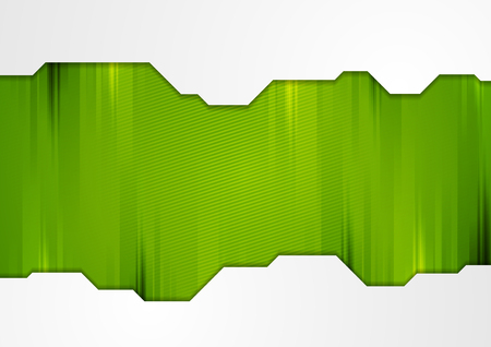 Green and grey abstract technology background. Modern vector design