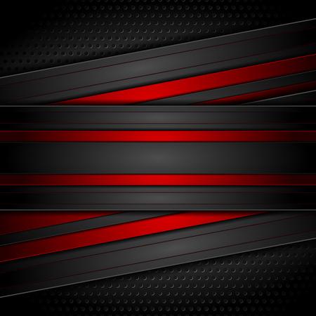 Dark red and black contrast tech design Reklamní fotografie - 90370489
