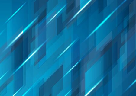 Dark blue abstract hi-tech digital pattern design. Vector modern futuristic background 向量圖像