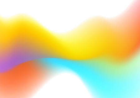 Abstract colorful liquid wave shiny vector background