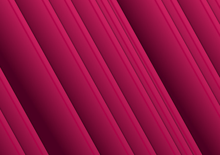 Bright purple smooth stripes abstract background. Vector illustration