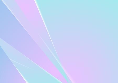 Rosa und blauer minimaler abstrakter Unternehmenshintergrund. Vektordesign Vektorgrafik